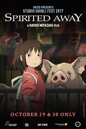 Spirited Away. (Dubbed)