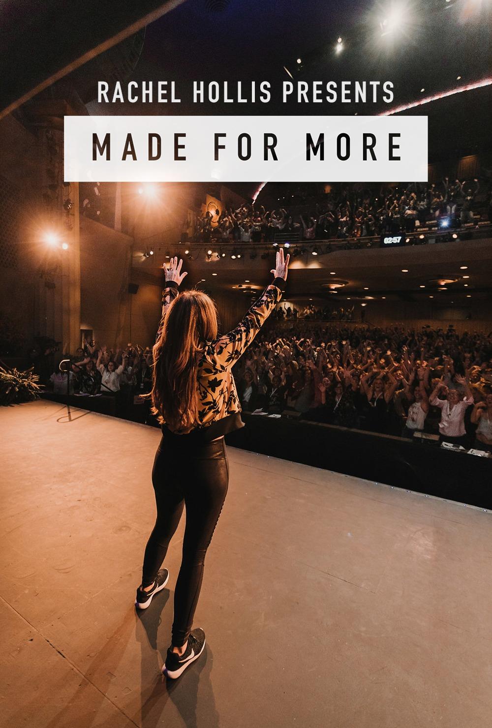 Rachel Hollis Pres: Made For More