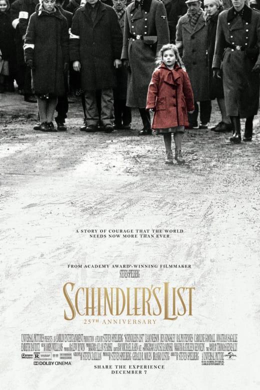 Schindler's List-25Th Anniversary