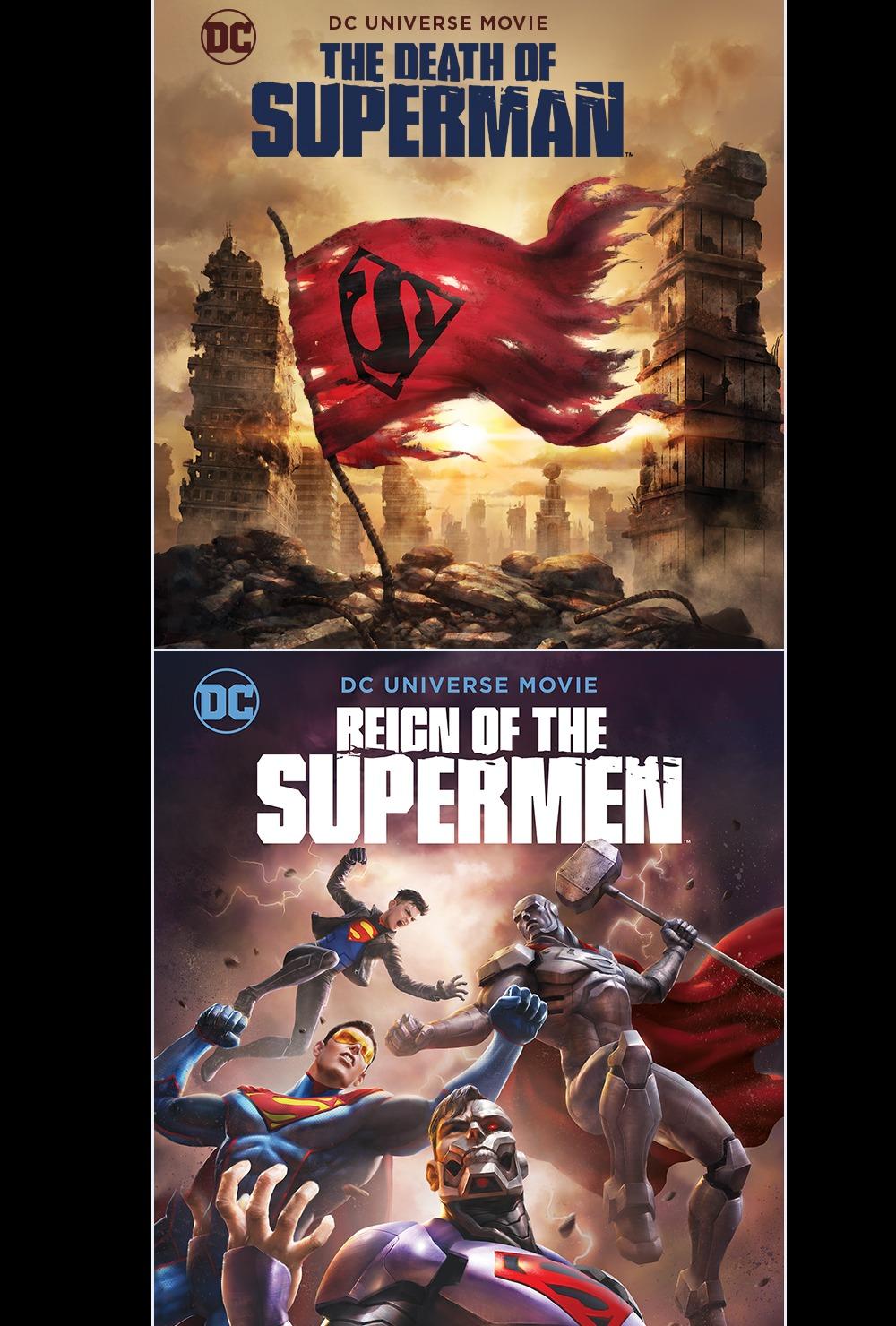 DEATH OF SUPERMAN / REIGN SUPERMEN