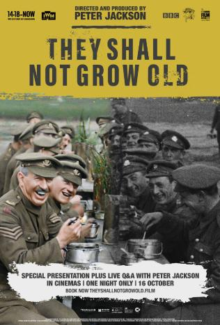 They Shall Not Grow Old Encore