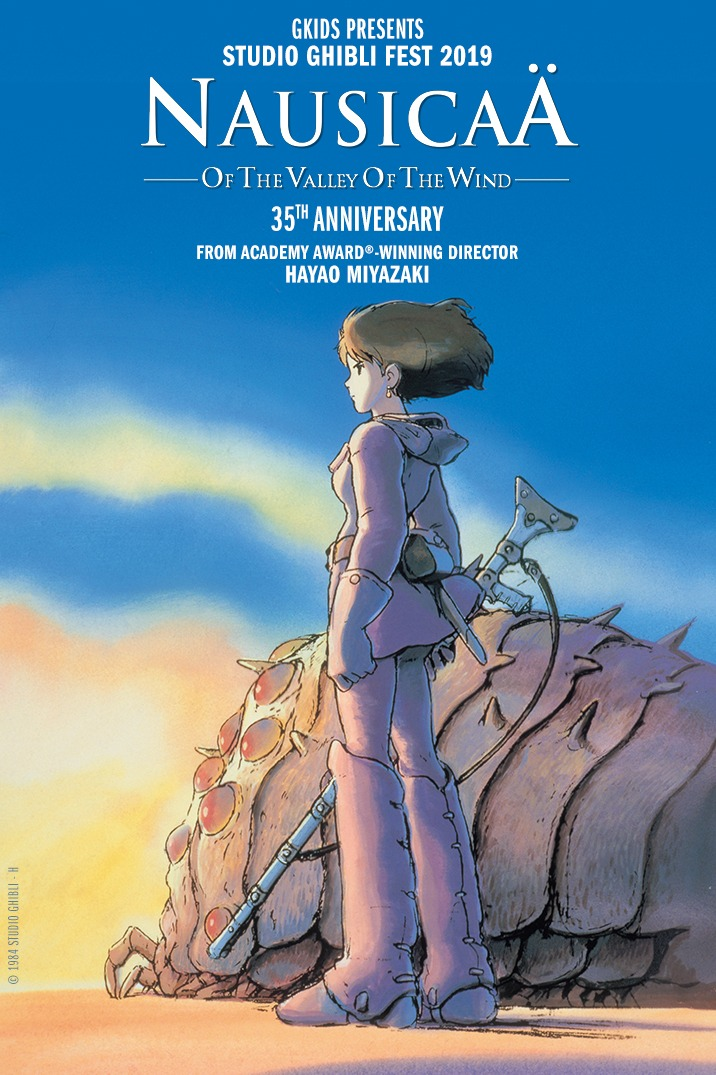 Nausicaa Of The Valley Of Wind - Ghibli Fest 2019--Dubbed