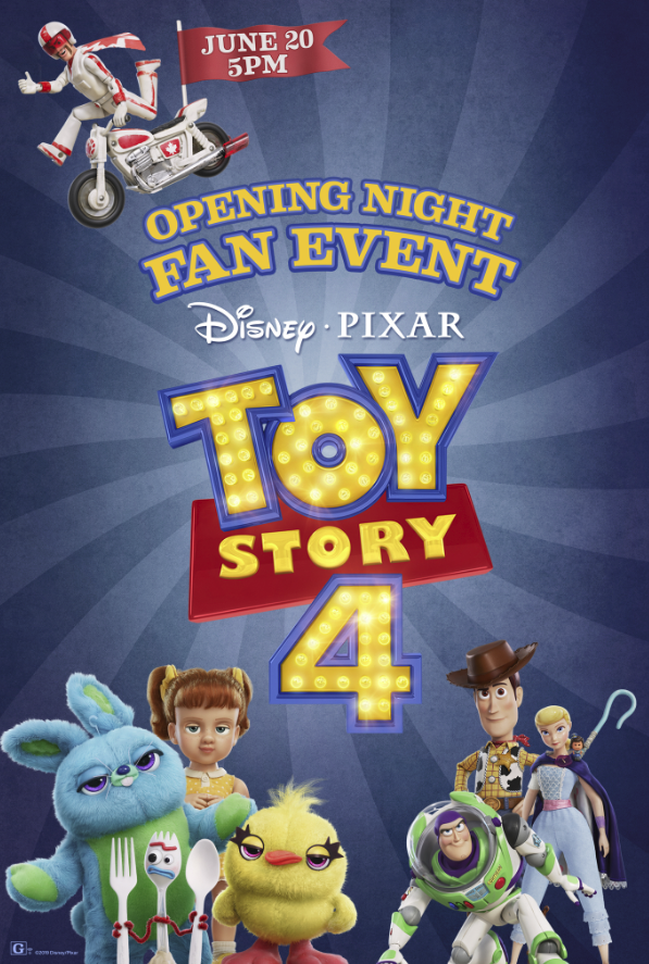 Opening Night Fan Event Toy Story 4