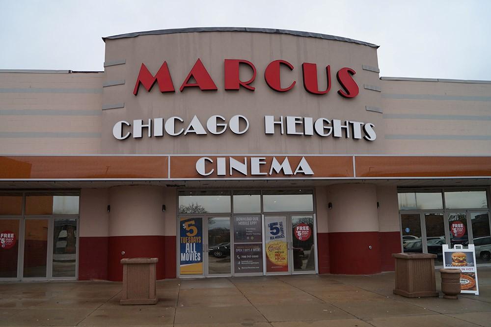Chicago Heights Movie Theatre Marcus Theatres