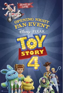 Marcus Theatres Opening Night Fan Event Toy Story 4