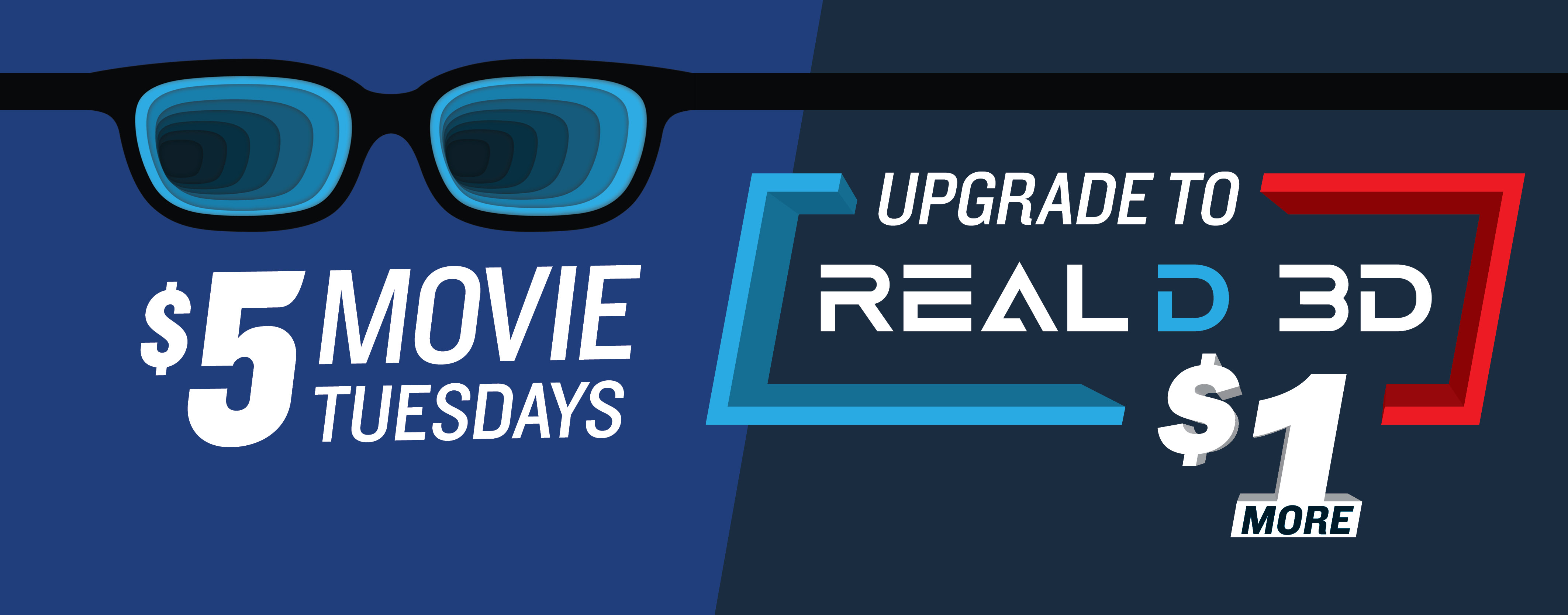 RealD 3D Tuesday Deal