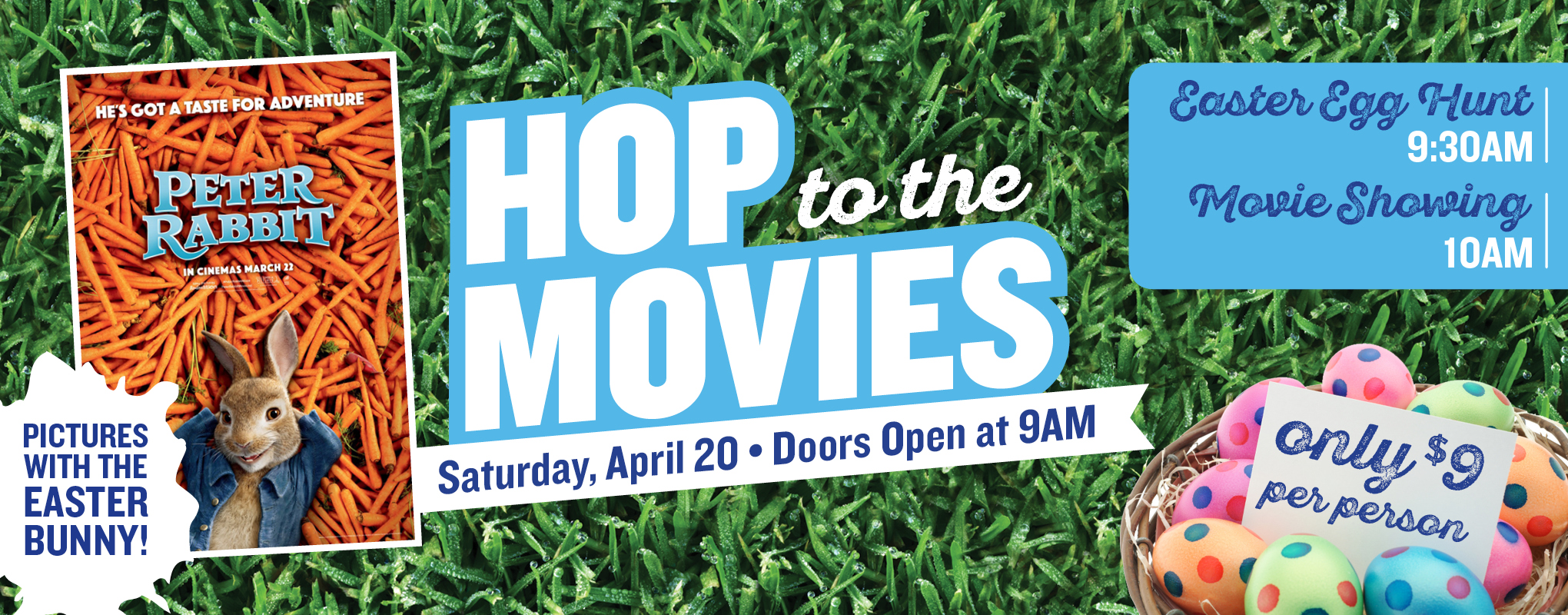 Hop to the Movies