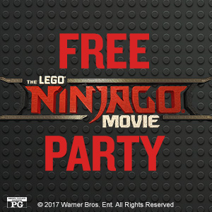 The Lego Ninjago Movie Party