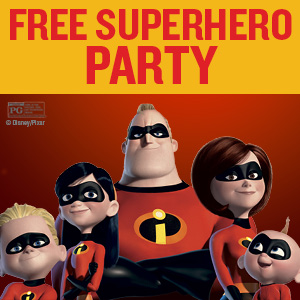 Free Incredibles 2 Party