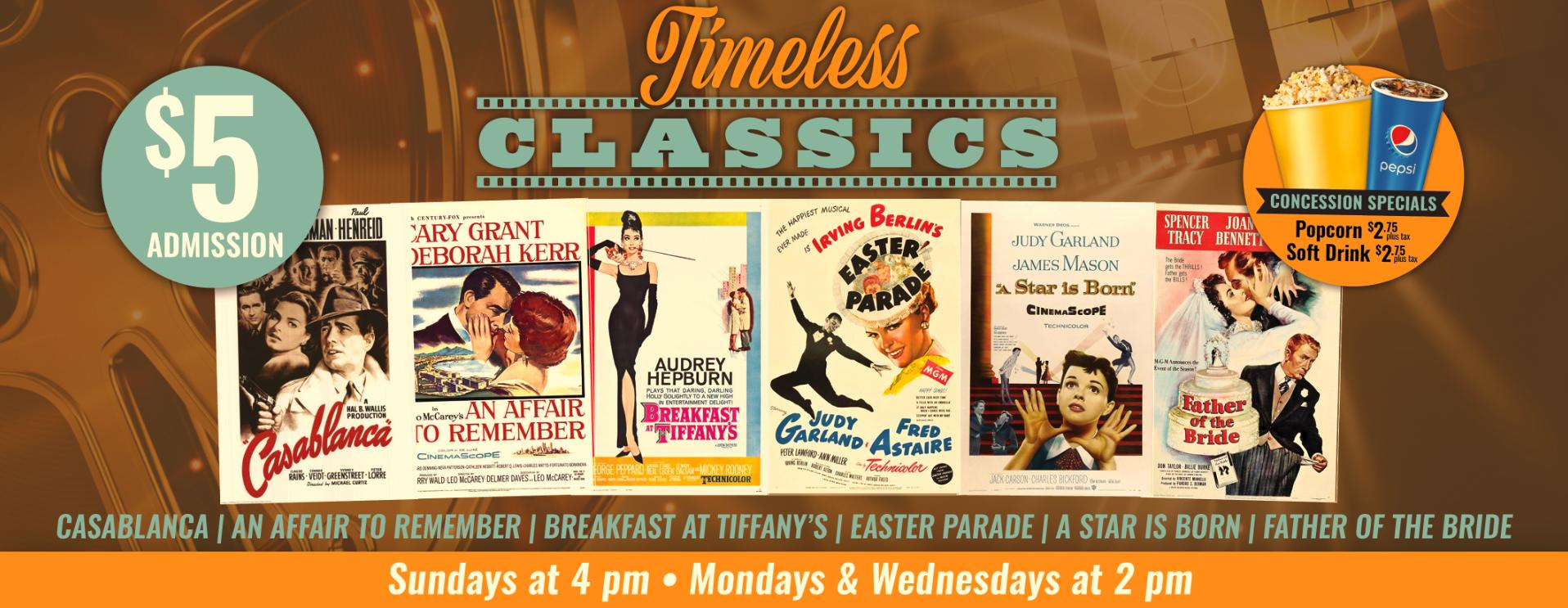Timeless Classics Matinee Retro Series
