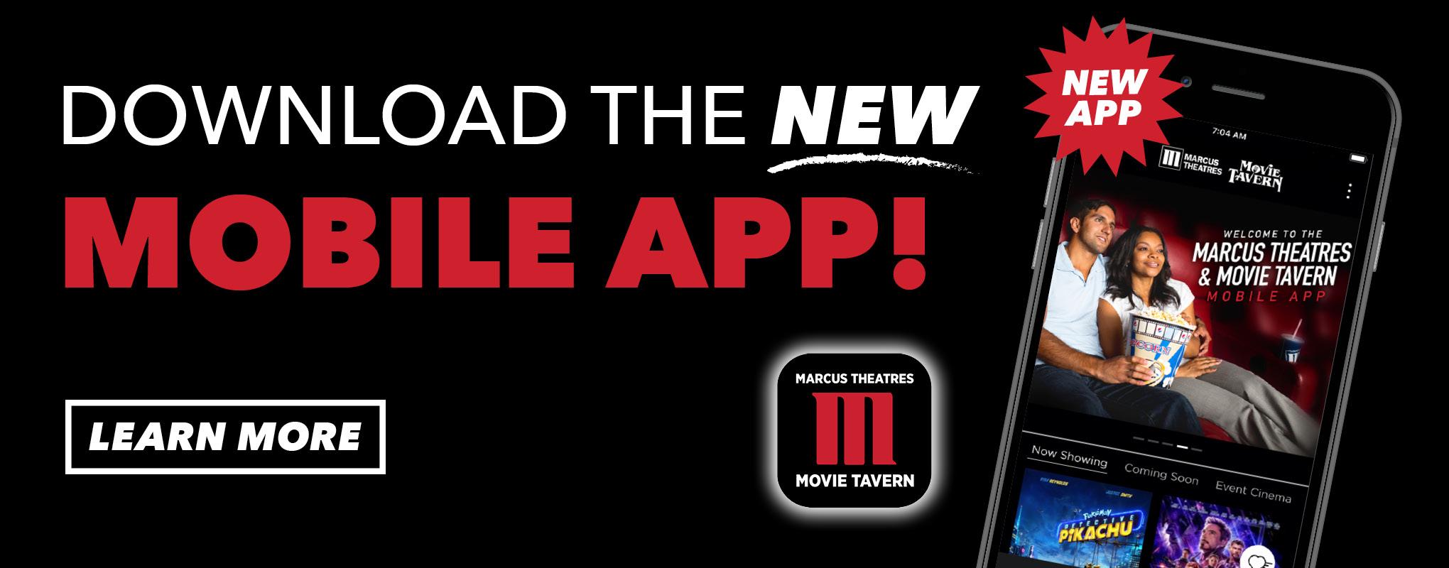 New Marcus Theatres Mobile App