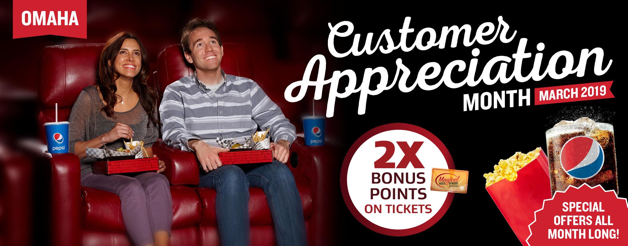 Omaha Customer Appreciation Month