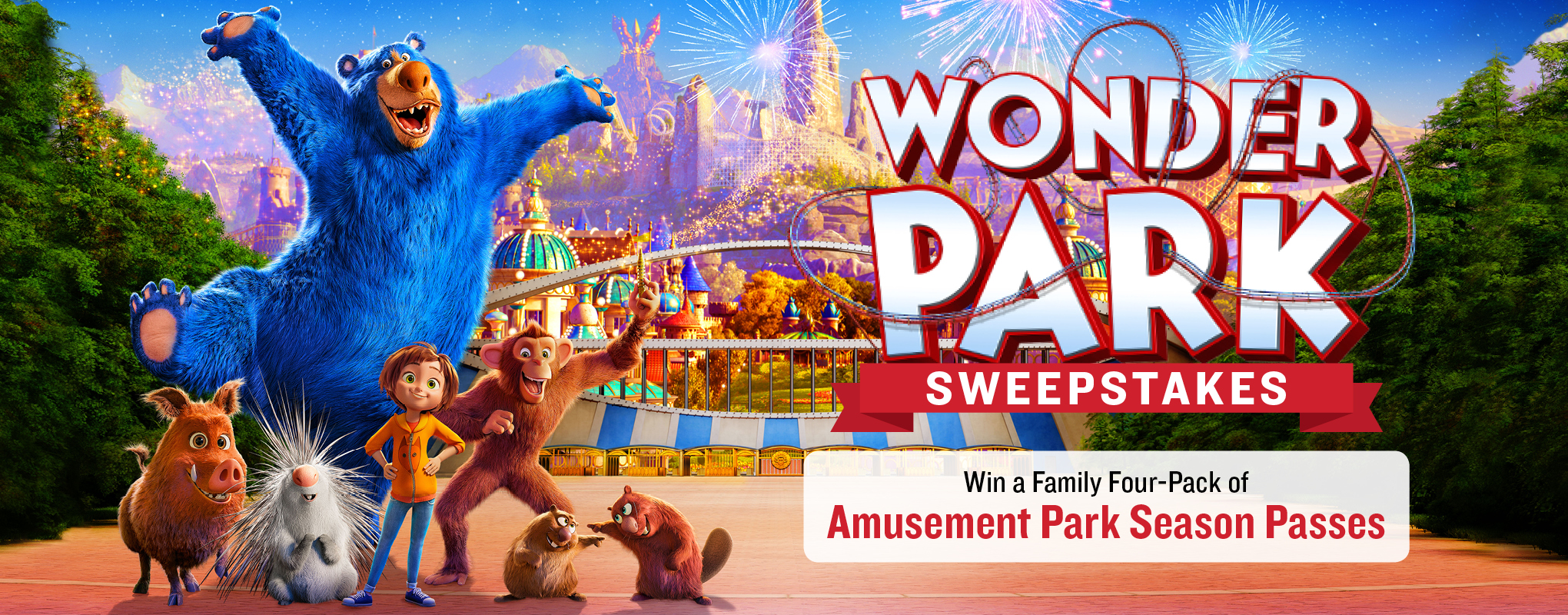 Wonder Park Sweepstakes