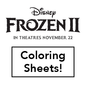 Frozen II Coloring Sheets