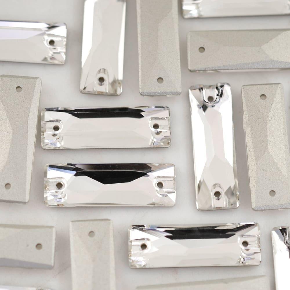Baguette para costura Supreme Cristal 18x6mm 42 peças