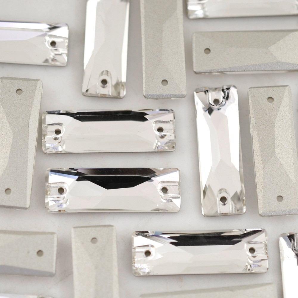 Baguette para costura Supreme Cristal 26x9mm 24 peças