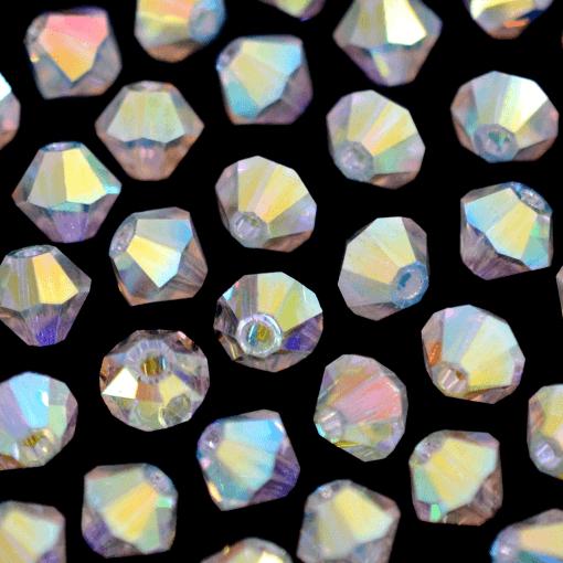 Balão Preciosa® art. 451 69 302 Cristal Aurora Boreal 2x (2 vezes) 4mm