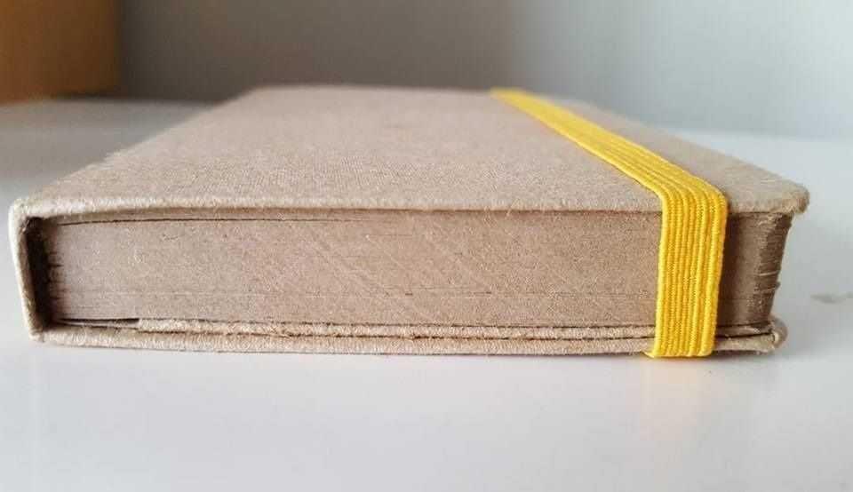 Caderno Maitah Sketchbook Moinho Brasil 15 x 15 cm