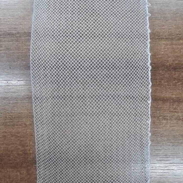 Crinol 8cm de largura Branco