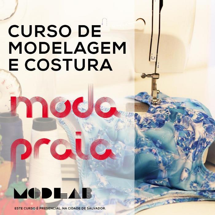 Curso de Modelagem e Costura Moda Praia - Presencial - Salvador -BA