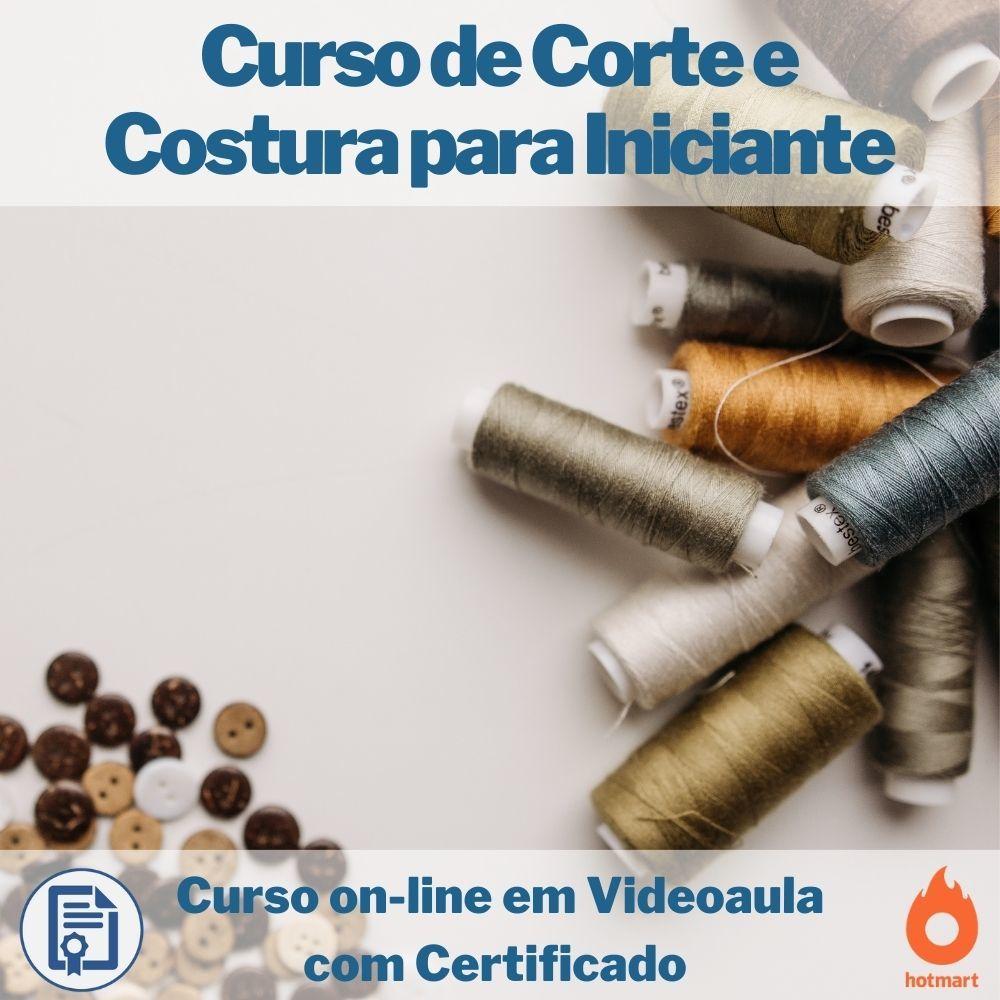 Cursos on-line em videoaula de Corte e Costura para Iniciantes com Certificado