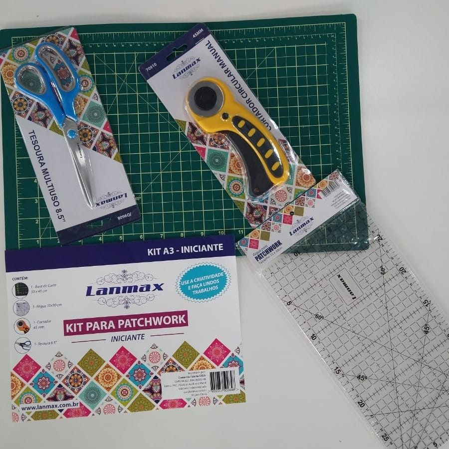 kit Patchwork Iniciante Lanmax