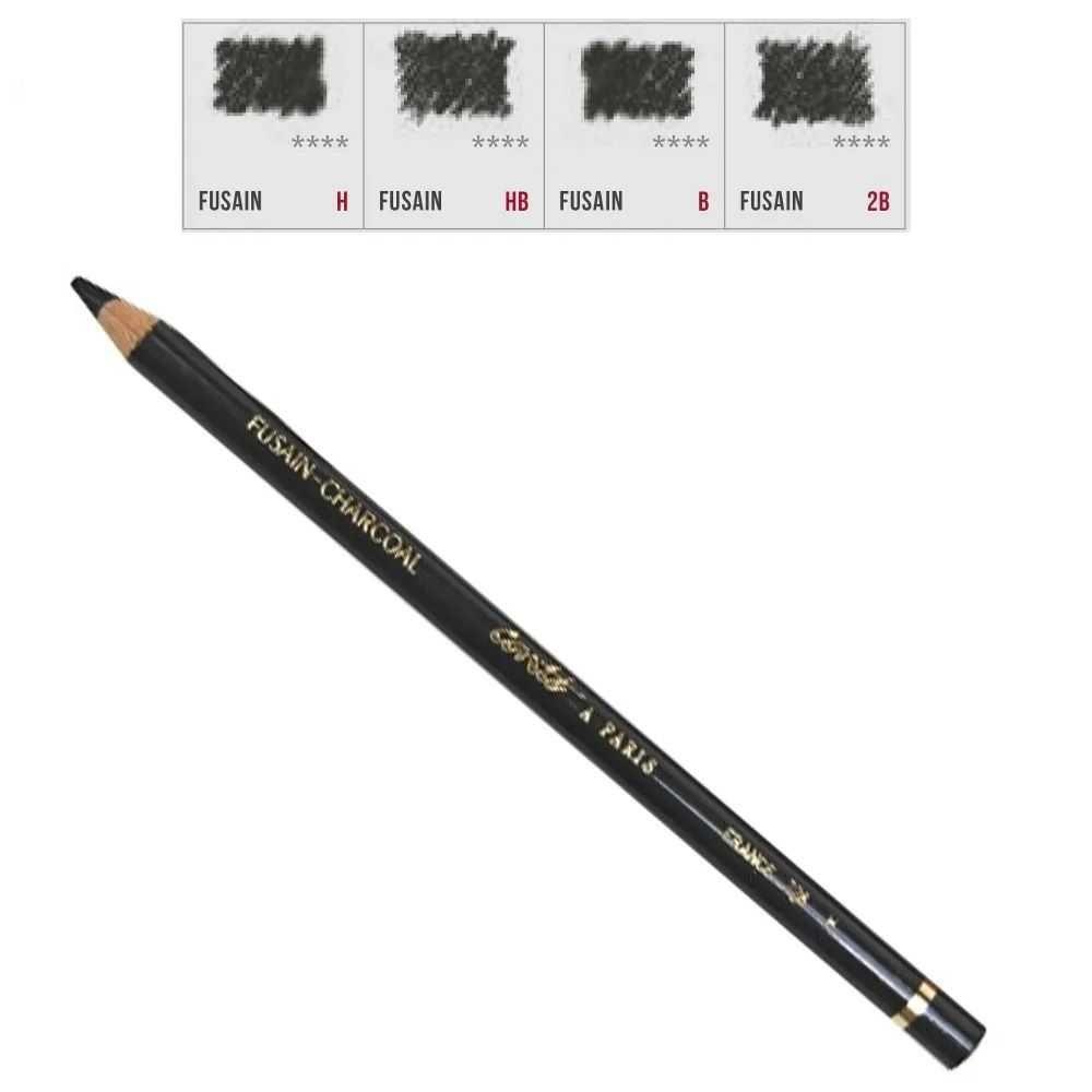 Lápis para Esboço Conté à Paris Fusain Charcoal HB