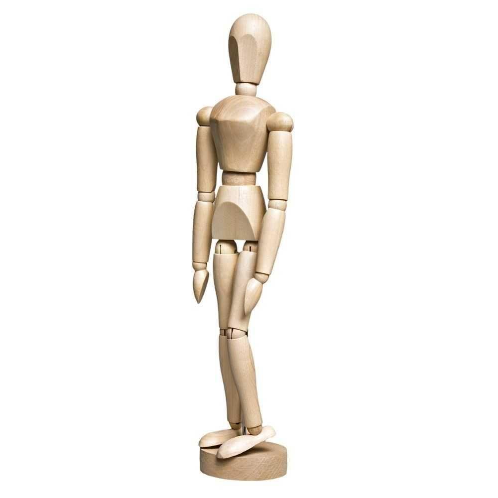Manequim Articulado - Feminino - 30 cm