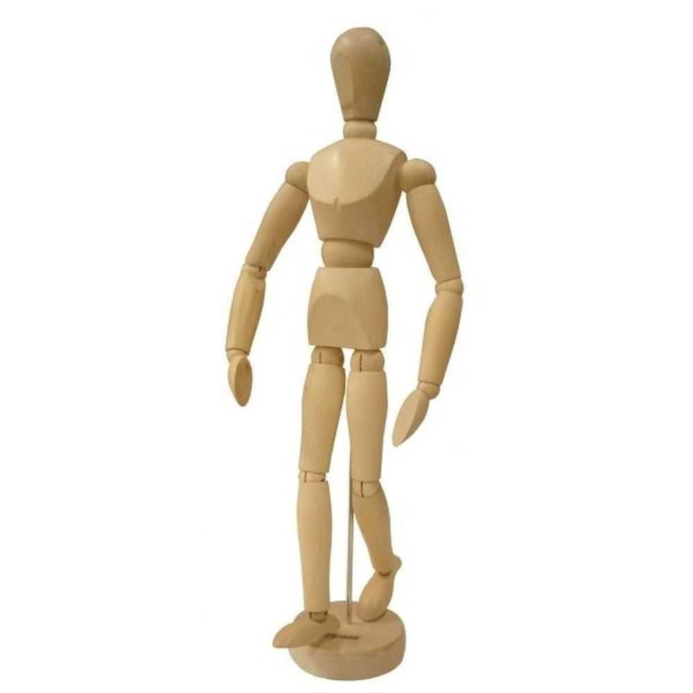 Manequim Articulado - Masculino - 30 cm