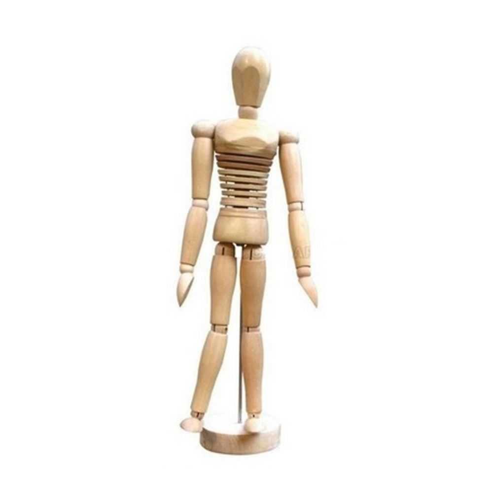 Manequim Masculino Articulado - Torso Flexível - 20 cm