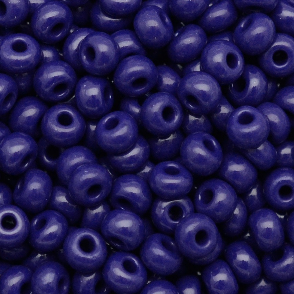 Miçanga Preciosa® Ornela Azul Fosco (33070) 2/0=6,1mm 100 gr