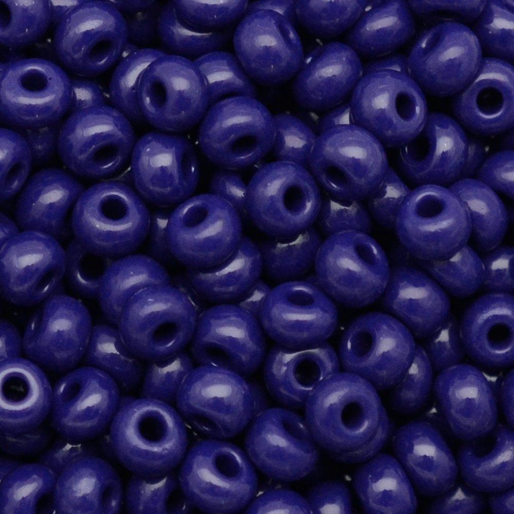 Miçanga Preciosa® Ornela Azul Fosco (33070) 9/0=2,6mm 100 gr