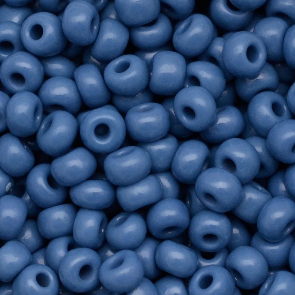 Miçanga Preciosa® Ornela Azul Fosco (33220) 7/0=3,5mm 50 gr