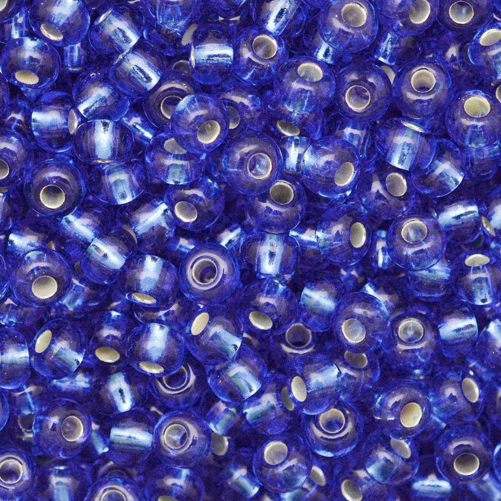 Miçanga Preciosa® Ornela Azul Transparente (37050) 9/0=2,6mm 100 gr