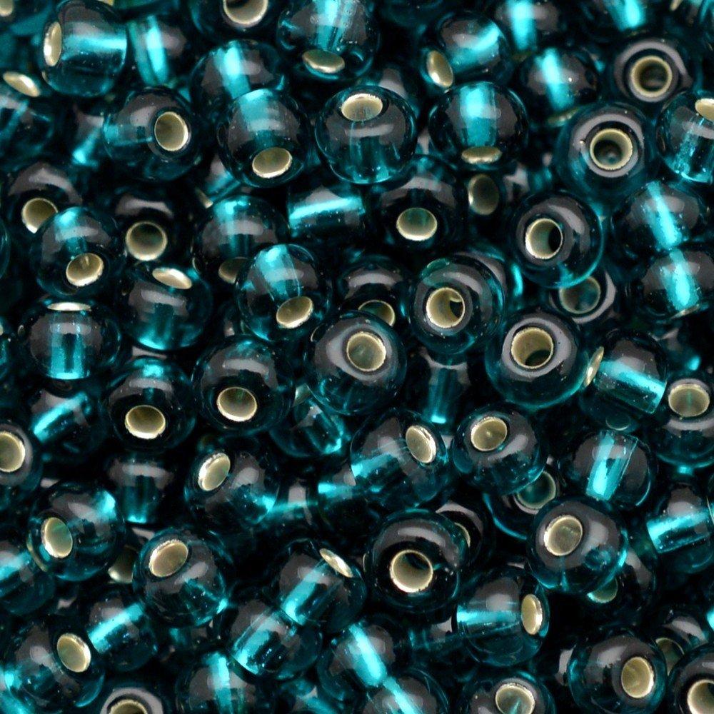 Miçanga Preciosa® Ornela Blue Zircon  Transparente (57710) 9/0=2,6mm 100 gr