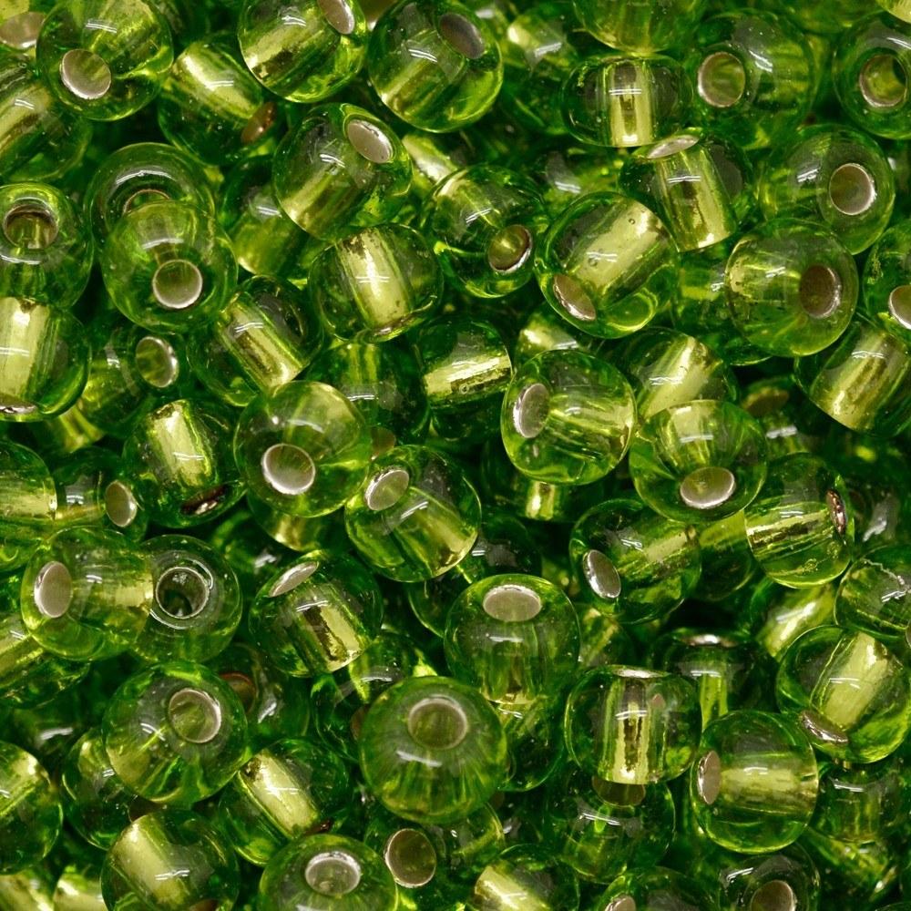 Miçanga Preciosa® Ornela Verde Transparente (57430) 9/0=2,6mm 100 gr
