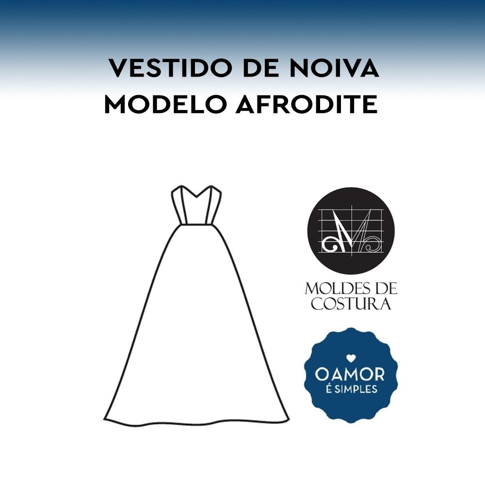 Molde Vestido de Noiva Afrodite PP/GG – by O Amor é Simples