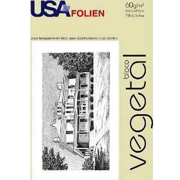 Papel Vegetal Lasergraph A4 60g/m² USA Folien 50 Folhas