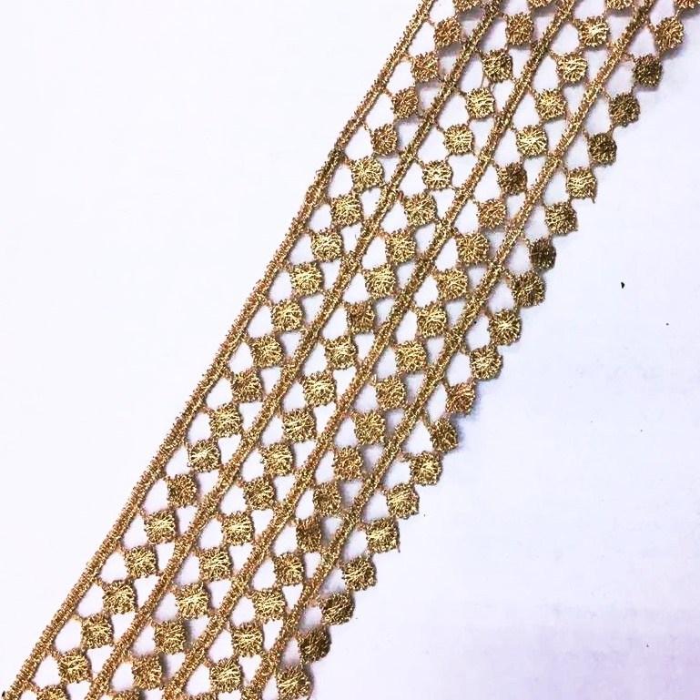 Passamanaria Tricô Dourado