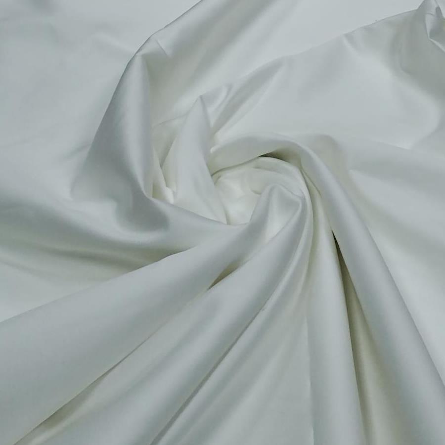 Tecido Percal Egípcio 400 fios Acetinado Branco