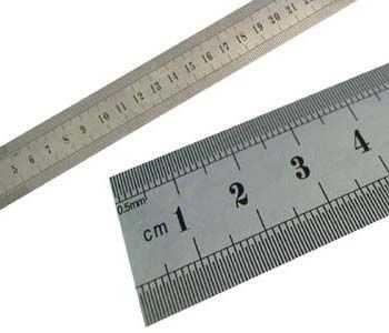 Régua de Aço 60 cm
