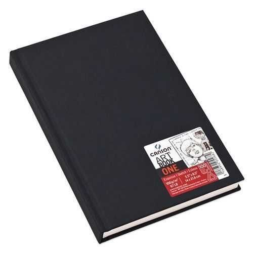 Sketchbook - Bloco Canson One - 100g/m² A5 (14cm x 21,6cm)