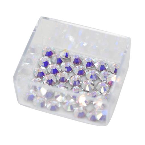Strass Chaton Viva 12® Preciosa® art. 438 11 612 NO HF Cristal Aurora Boreal New SS20=4,60mm