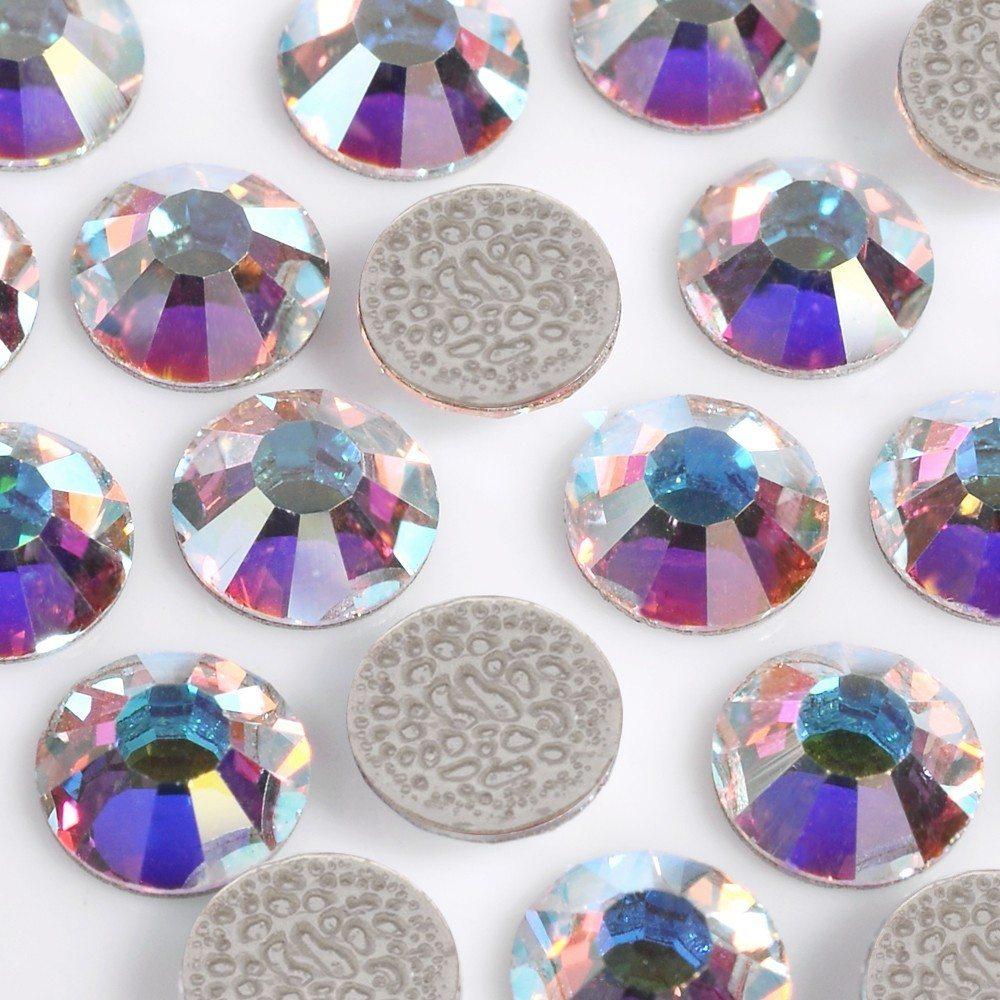 Strass Chaton Viva 12® Preciosa® art. 438 11 612 HF Cristal Aurora Boreal New SS10 = 2,70 mm