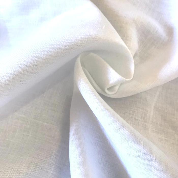 Tecido 100% Linho Branco