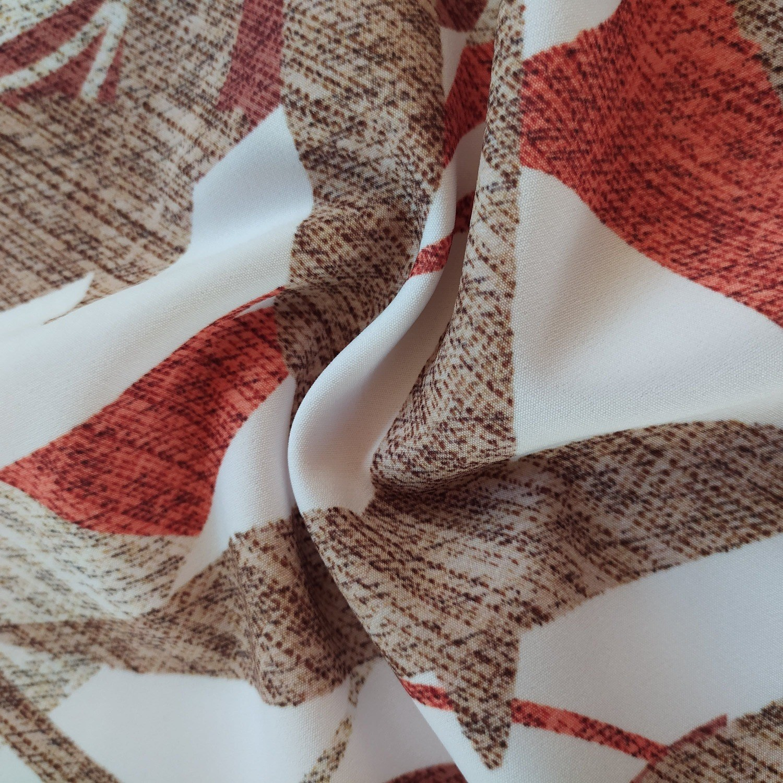 Tecido Alfaiataria New Look Estampado Abstrato