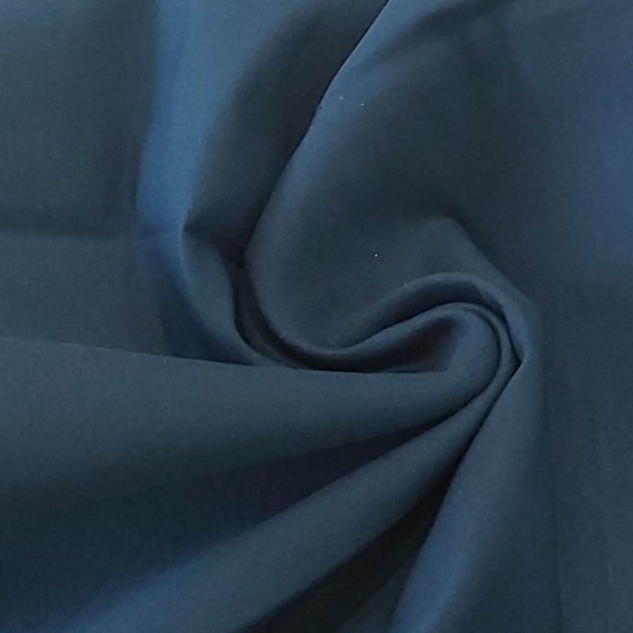 Tecido Bengaline Azul Petróleo com Elastano