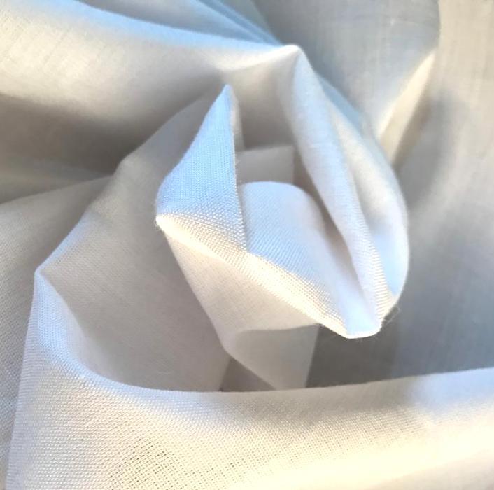 Tecido Cambraia de Linho Puro Branco