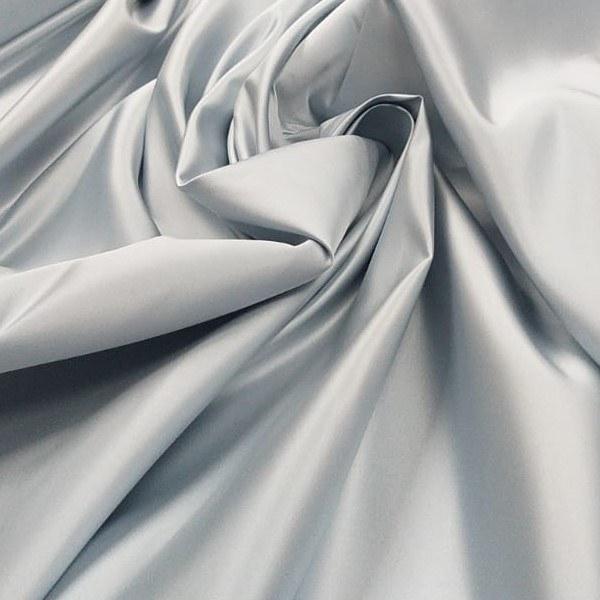 Tecido Cetim Bucol Azul Claro Pantone 12-4609