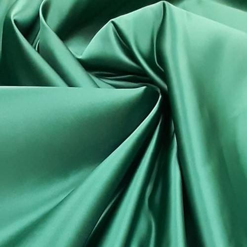 Tecido Cetim Bucol Verde Bandeira Pantone 18-5725